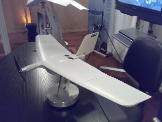 WASP 3 Micro UAV on Display